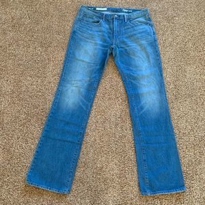Gap 1969 men 36x36 Blue Bootcut Jeans